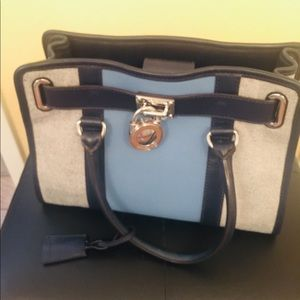 Michael Kors Denim Shoulder Bag
